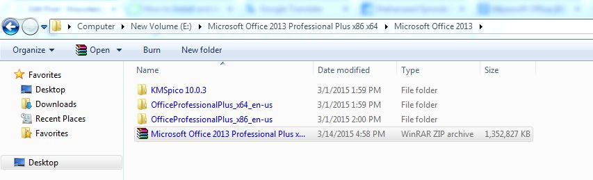 How to Install and Activate Microsoft Office 2013 step 1