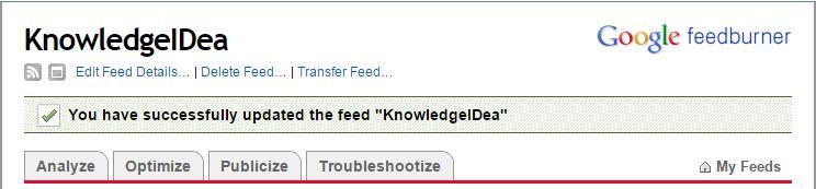 How to Setup FeedBurner For WordPress Step 5