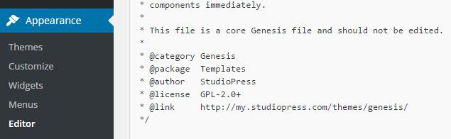 Add Logo To Genesis Framework step 5