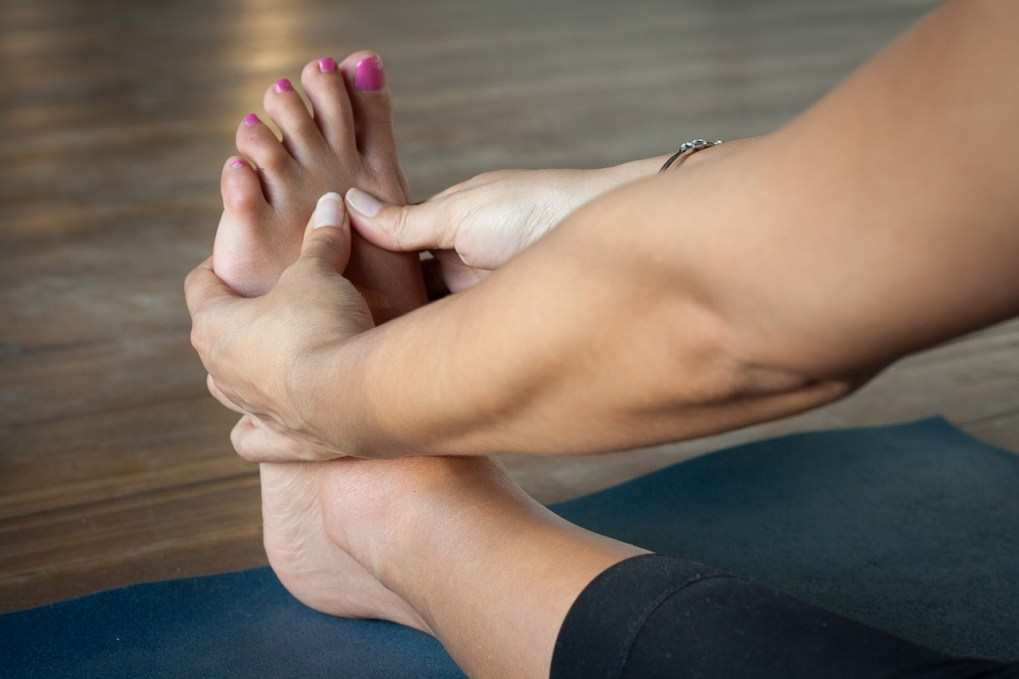 Healing arthritis with yoga