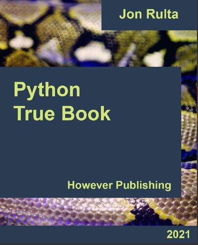 Python True Book