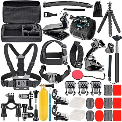 Neewer-50-In-1-Action-Camera-Accessory-Kit-Compatible-with-GoPro-Hero9-Hero8-Hero7-GoPro-Max-GoPro-Fusion-Insta360-DJI-Osmo-Action-AKASO-APEMAN-Campark-