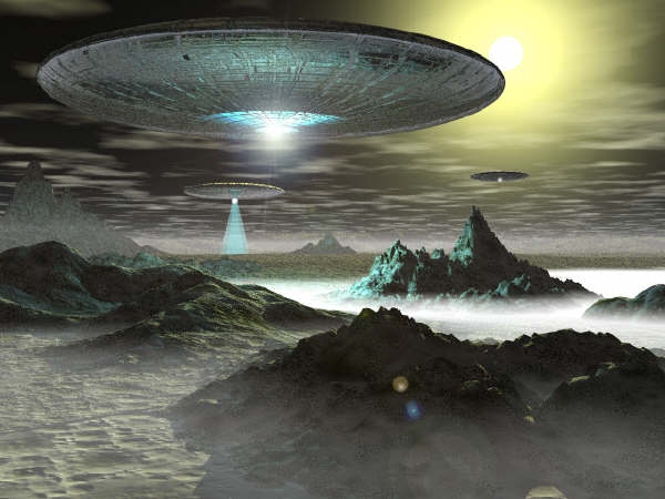 PsudeoStupidity- 26 Mile Alien Mothership in our Solar System
