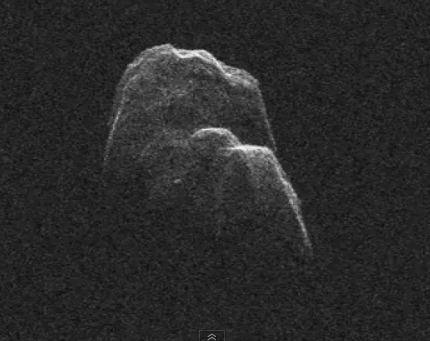 Radar Captures Video of Asteroid Toutatis over 44 Million