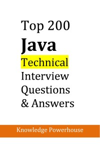Top 200 Java Technical Interview Questions Book