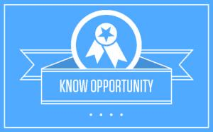 know opportunity