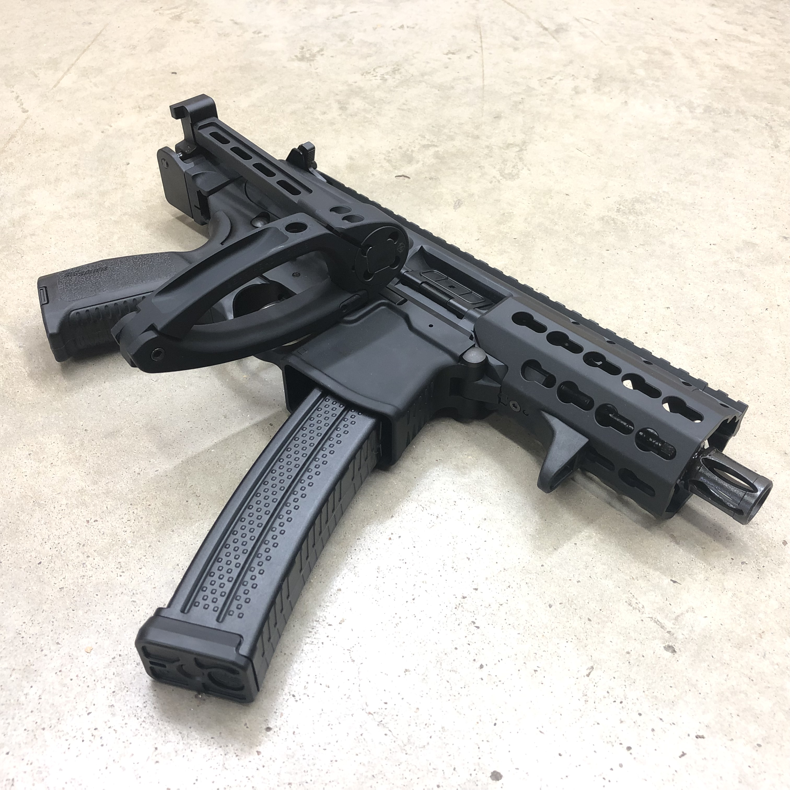 Lage/Tailhook Adapter Combo Kit for Sig MPX