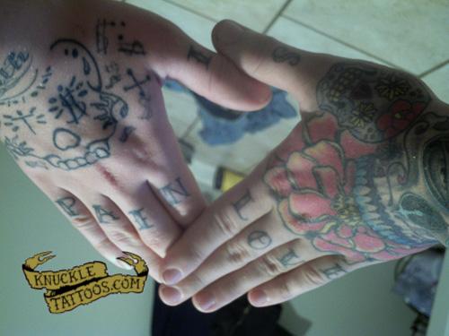 I Love Tony Tattoo