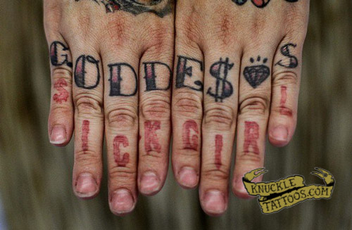 Sick Knuckletattoos Com