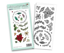 Polkadoodles Wonderful Christmas Clear Stamps