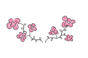 flower doodle (Small)