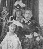 Crowning Ceremony 1934 (taken by the Guardian)