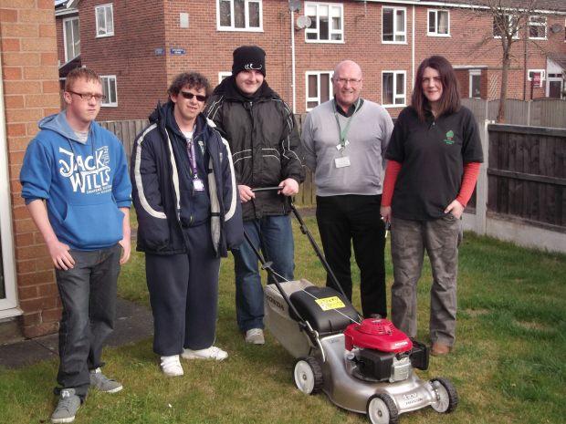 Knutsford GROW new mower