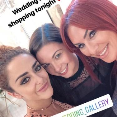 Hanna, Camilla & Lauren on Hanna's instagram story