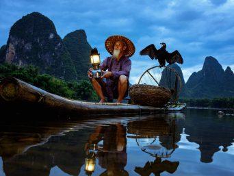 Fisherman of Guilin China