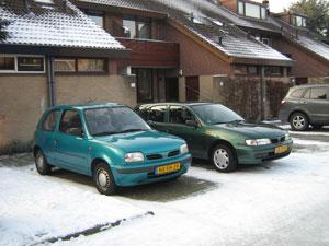 onze auto's