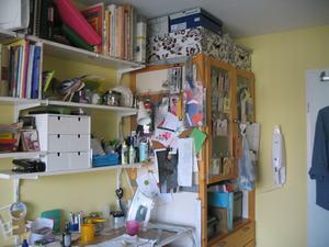 mijn werkkamer
