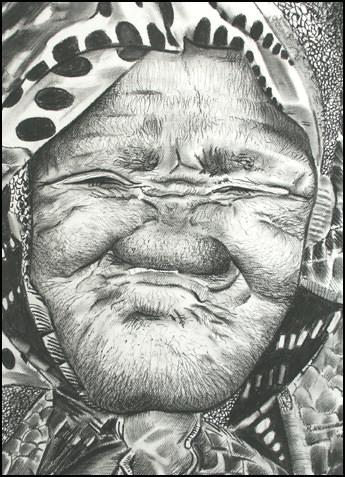 gelukkige verjaardag oude vrouw