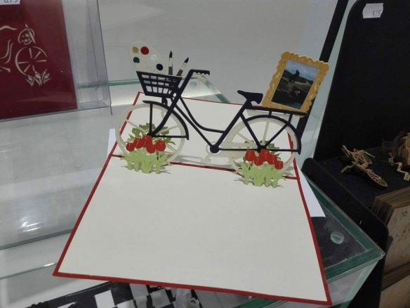 kaart-fiets