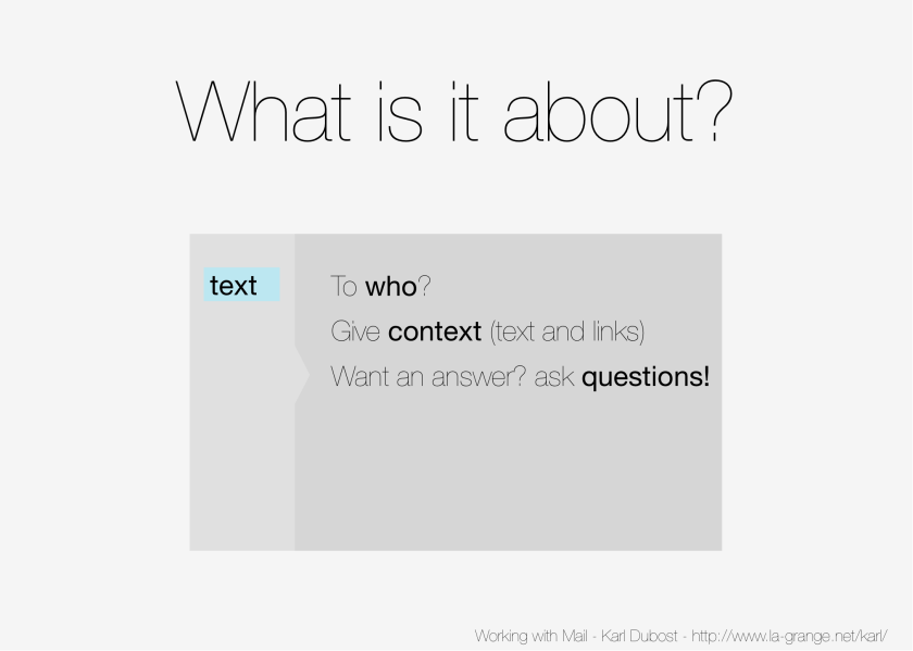 Slide 13 - Ask questions