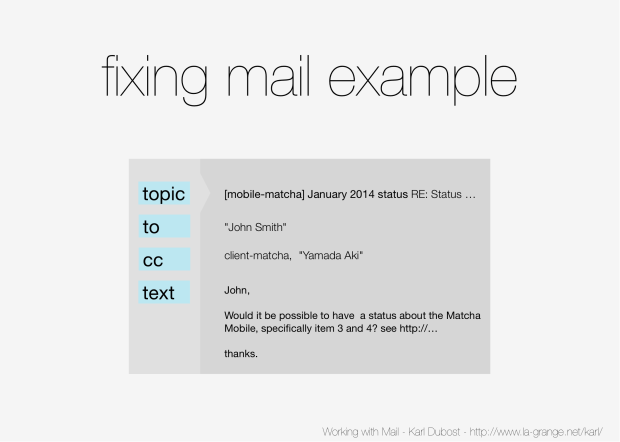 Slide 16 - Improved e-mail