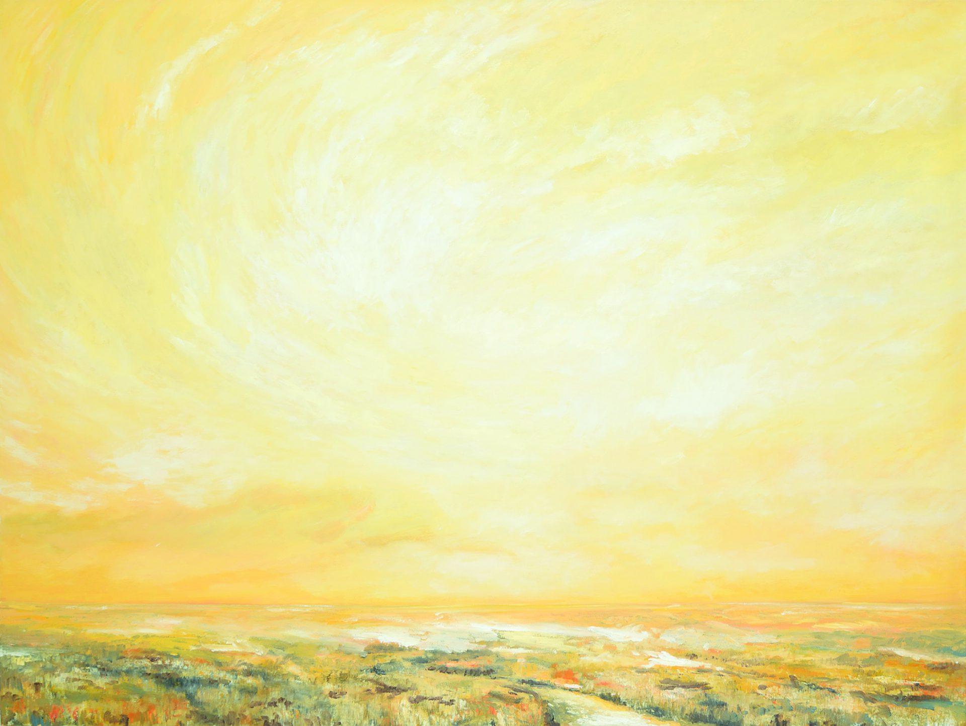 Winter Sky II, Dale Kirschenman 2009