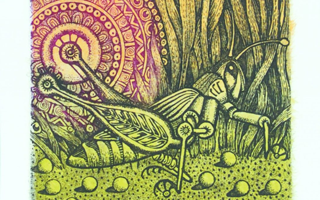 "Eveline Kolijn ASA, ""Prairie Dancer I"" #11/15  2011"