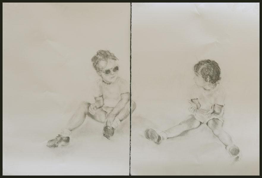 "Rose Braun  ""Twins""  Silent Auction Lot #105"