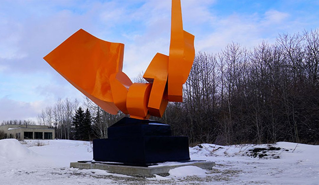 This iconic 2-tonne CBC Calgary sculpture will soon move to a new home