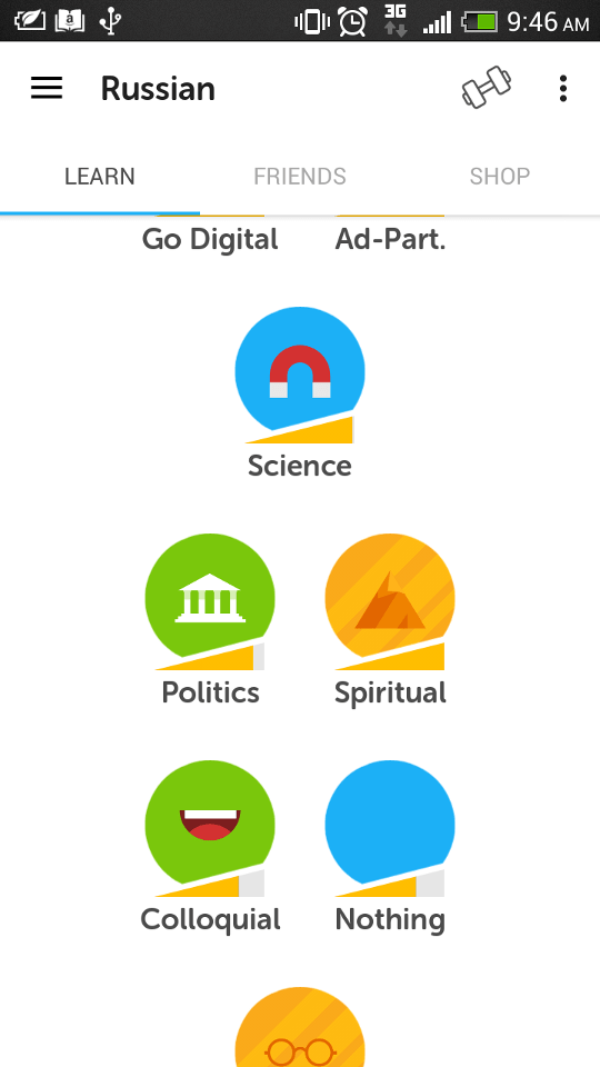 Thoughts on DuoLingo Mobile