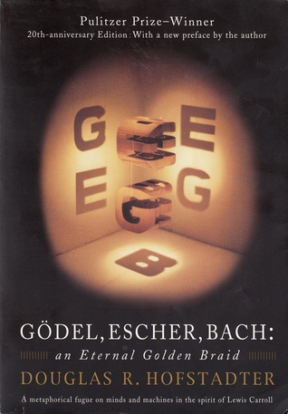 The cover of Godel, Escher, Bach: An Eternal Golden Braid