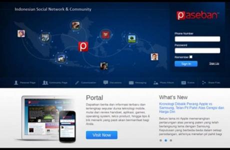 Paseban.com, Jejaring Sosial Asli Indonesia