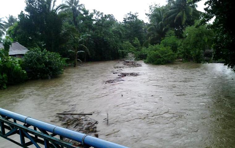 Banjir Brang Rea Akibatkan Kerugian Rp 638 Juta