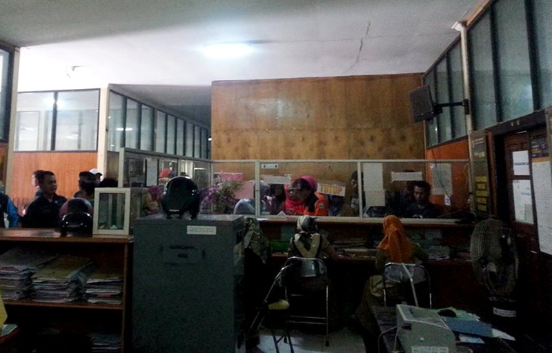 Kantor Disdukcapil Dianggap Tidak Memenuhi Standar Mutu Pelayanan Publik