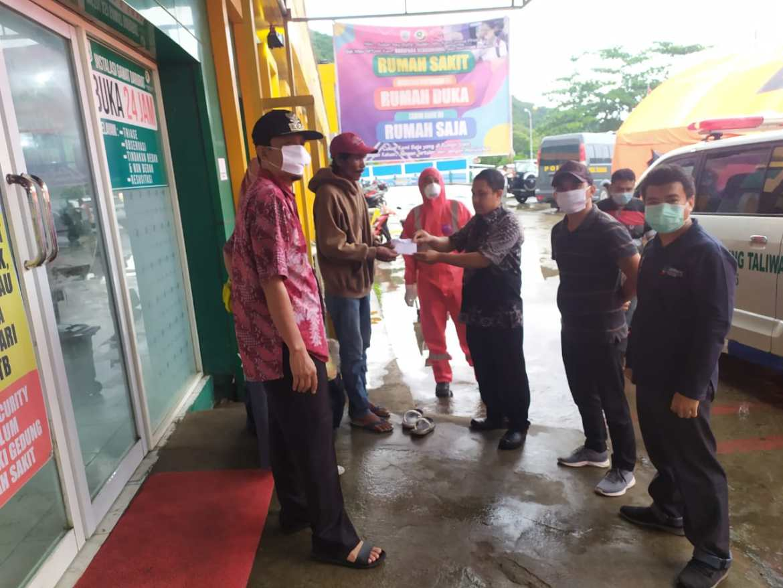 Tim Satgas Covid-19 KSB Kecolongan, Camat Taliwang Respon Cepat