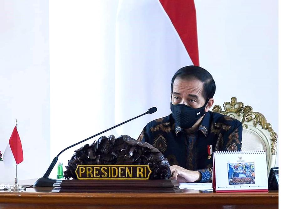 Jokowi Minta Mendagri dan Kapolri Waspadai Klaster Pilkada 2020