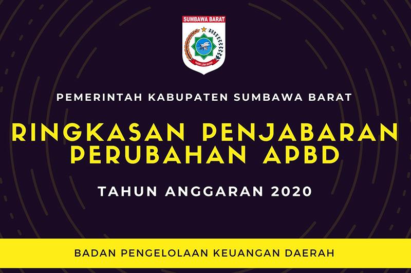 Ringkasan Penjabaran Perubahan APBD KSB Tahun 2020