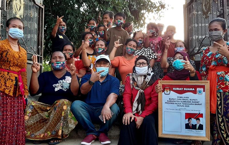 Firin-Fud Gas Poll Kampanye Lawan Kolom Kosong