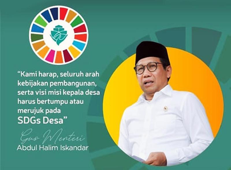 Para Kades Diminta Berpedoman Ke SDGs Desa
