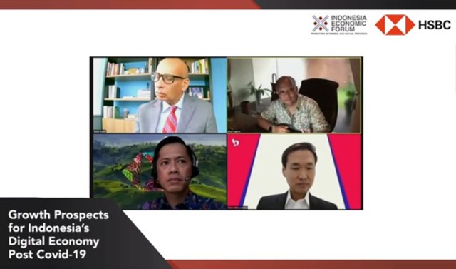 Para Panelis Indonesia Economic Forum