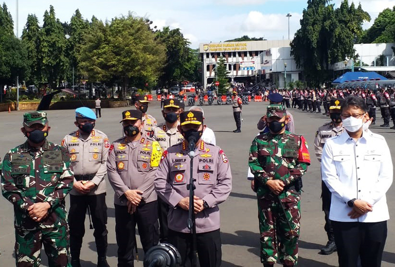 Kapolri Kerahkan 53.836 Personil Tangani Covid-19 di Seluruh Indonesia