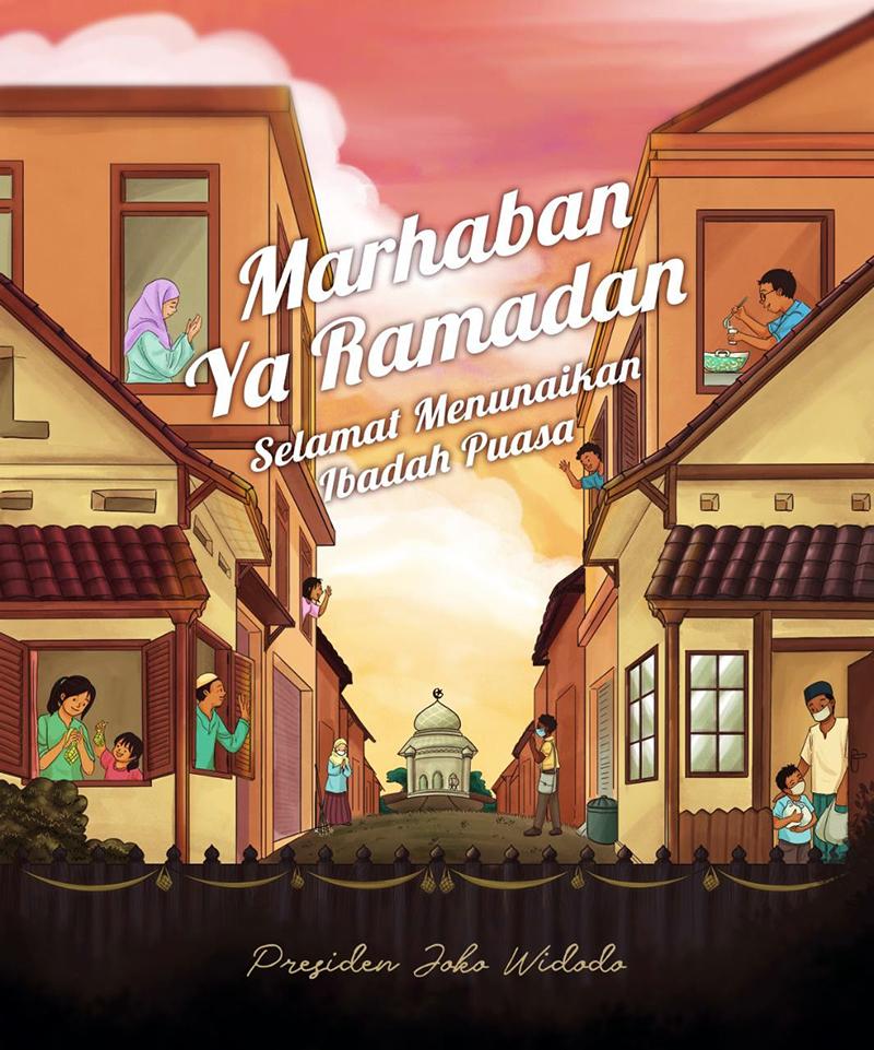 Marhaban Ya Ramadhan ~ Presiden Joko Widodo ~