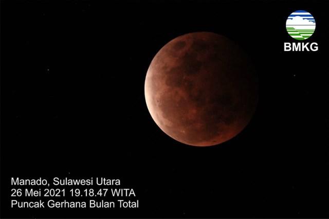 Gerhana Bulan Blood Super Moon 4