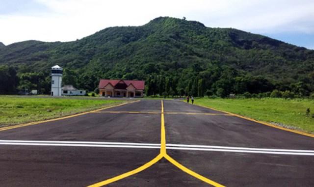 Landasan Pacu Bandara Sekongkang