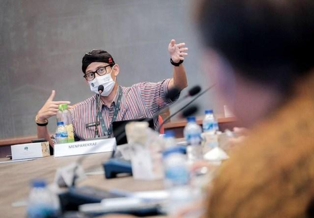 Sandiaga Uno Dorong Kepala Daerah Kreatif
