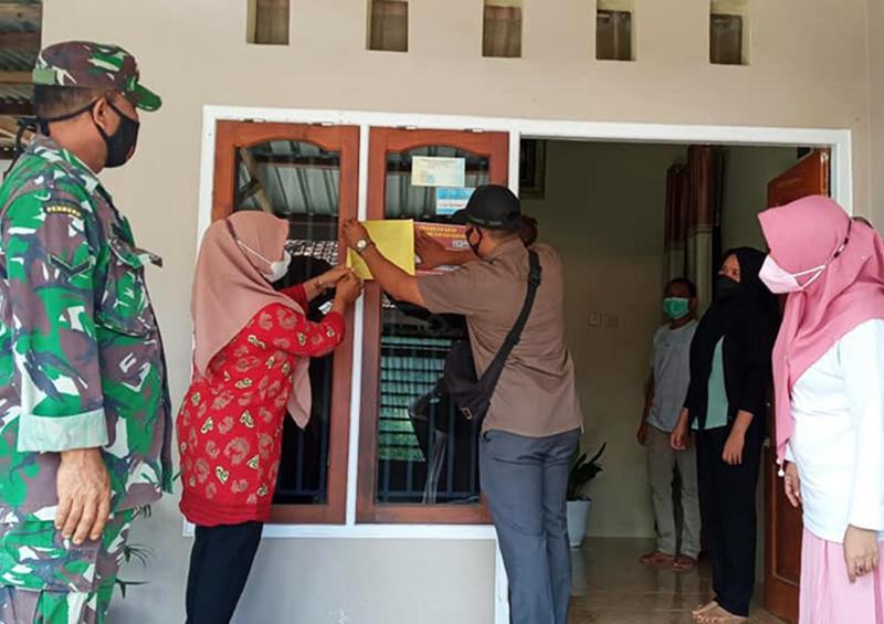 Gubernur NTB Bolehkan Isolasi Mandiri, Tapi Depan Rumah Warga Harus Ditempel Stiker