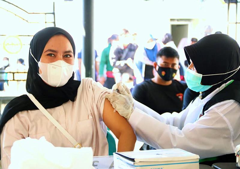 Penduduk Sumbawa Barat yang Telah Disuntik Vaksin Covid-19 Baru 19,04%