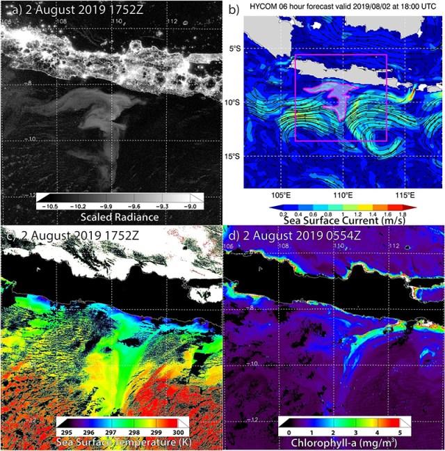 Fenomena Laut Selatan Jawa Bercahaya Tertangkap Satelit 10