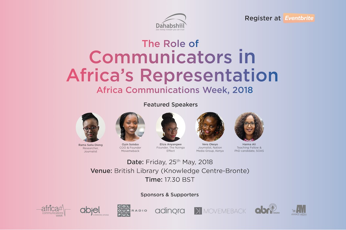 African Communicators Discuss Continent's Narrative at British Library