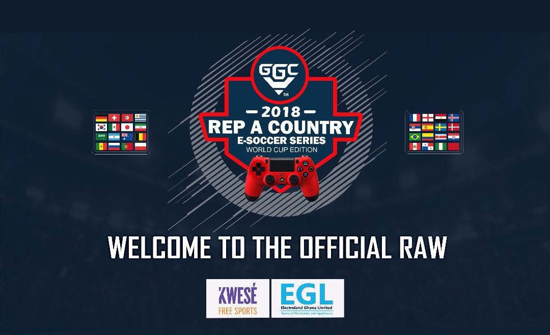 The official DRAW for GGC 2018 REP A COUNTRY